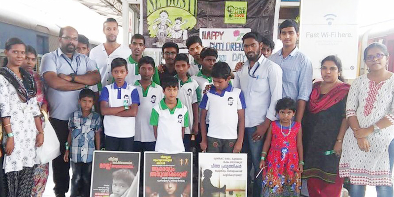 CHILDLINE Se Dosti- National Campaign at Trivandrum