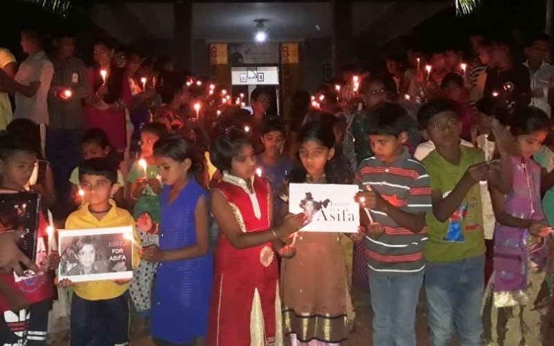 Justice for Asifa, A solidarity campaign in Ramnagara