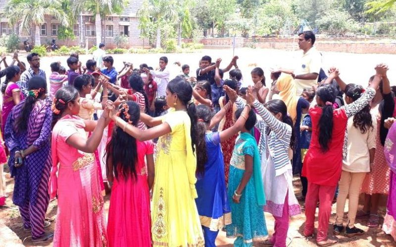 Residential camp for the children