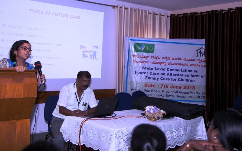 Session on Foster Care Programme