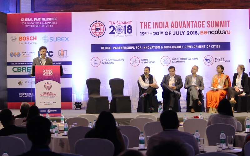 BREADS at The India Advantage Summit 2018, Bangalore