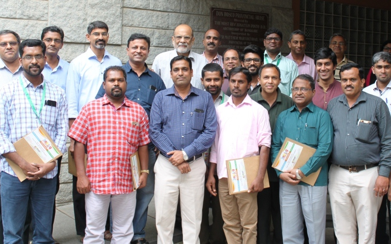 Training on waste management, vermicomposting and organic farming