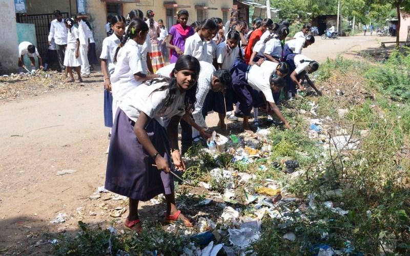 World Clean Up Day in Raichur