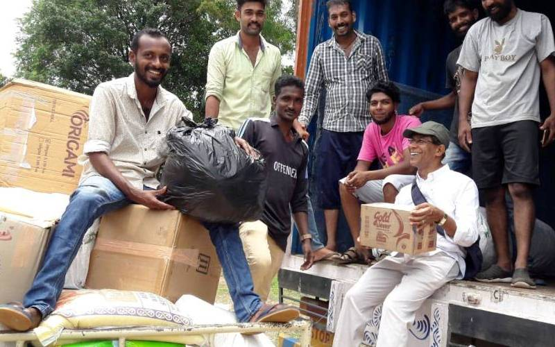 Don Bosco Alappuzha – A place of refuge for the victims of flood