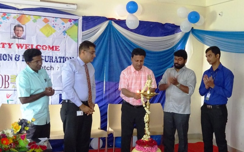 Endorsing the new potentials – Inauguration of batch 7 and certification of batch 6 students at DB BEST Academy, Bangalore