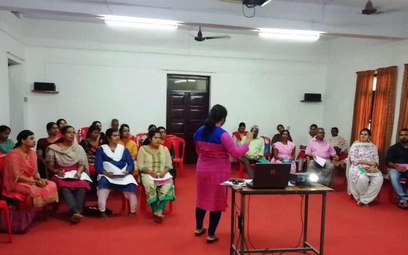Child Safety Enhancement Workshop for the Child Protection Committee Members at Vaduthala, Kerala on 5th, 6th& 7th, 8th March 2019