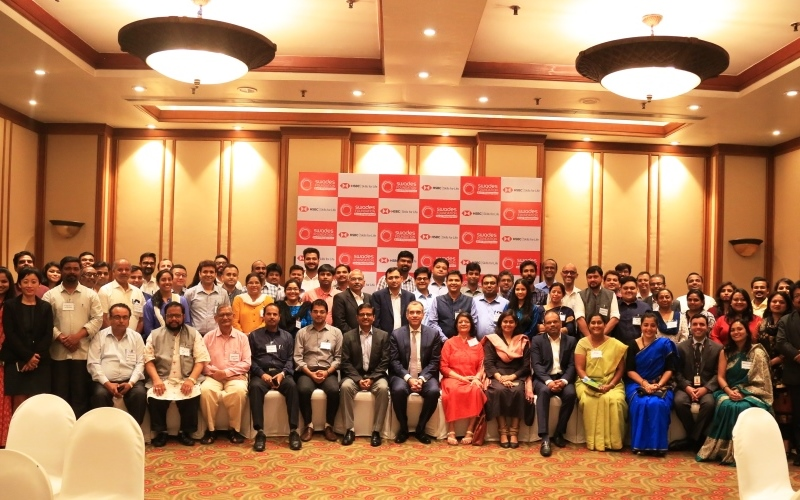 Orientation workshop for the HSBC Skills for Life project Partners at Mumbai on 2nd and 3rd April 2019