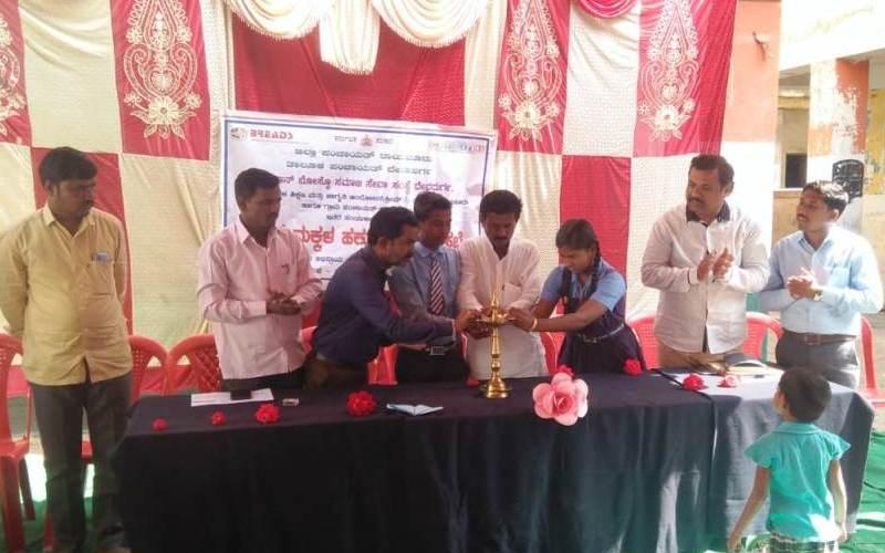 Children's Gram Sabha at Raichur district, Karnataka