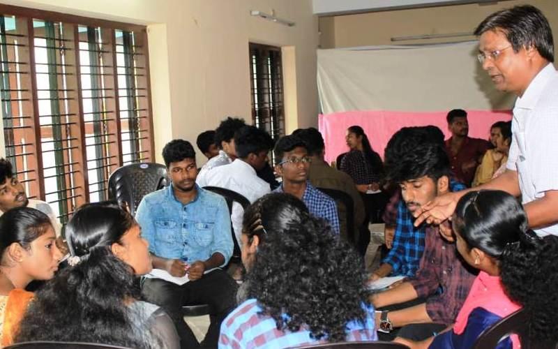 A Workshop on Effective Leadership in Kollam, Kerala